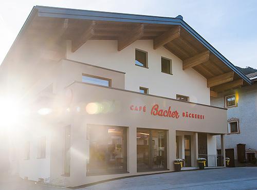 Gebäude Bäckerei Bacher
