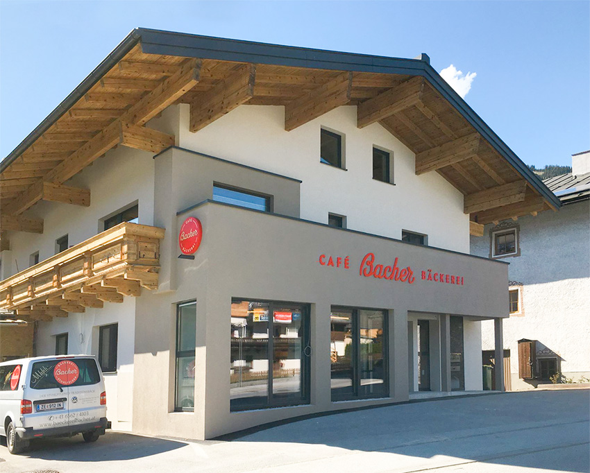 Bäckerei Bacher Neueröffnung Mai 2017